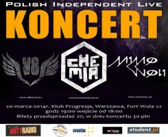 Polish Independent Live – Chemia, V8, Mimo Woli